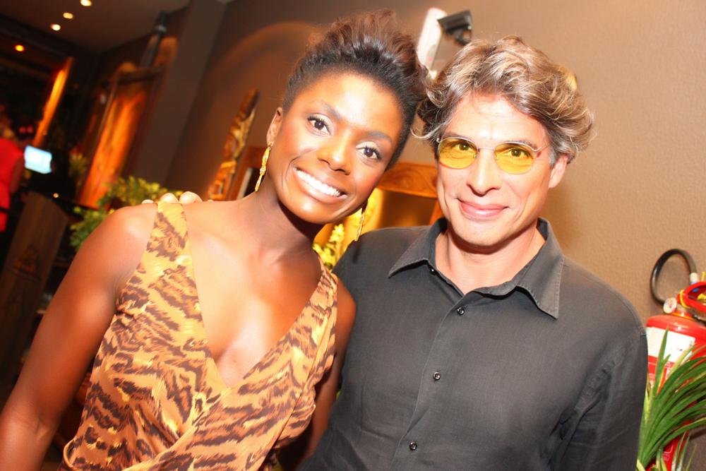 Debora Bloch e Olivier Anquier Alves e Olivier Anquier