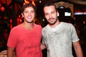 Rafael Cardoso e Rodrigo Andrade