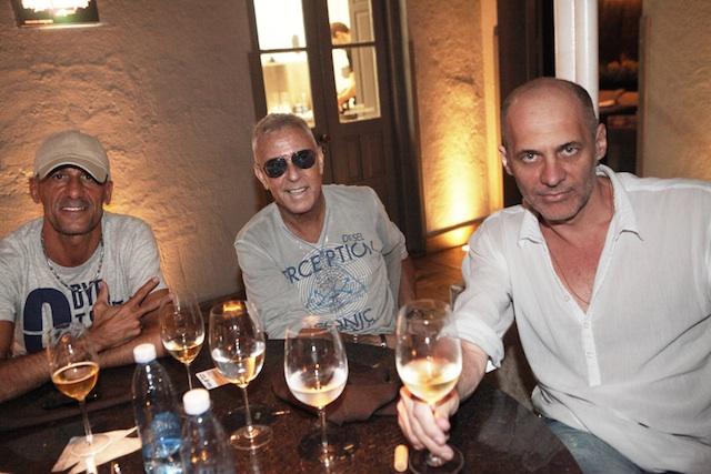 Bibi, Cacau e Mauro