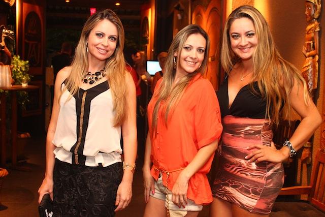Neusa Braspress, Joana Camargo e Marcella Oliveira