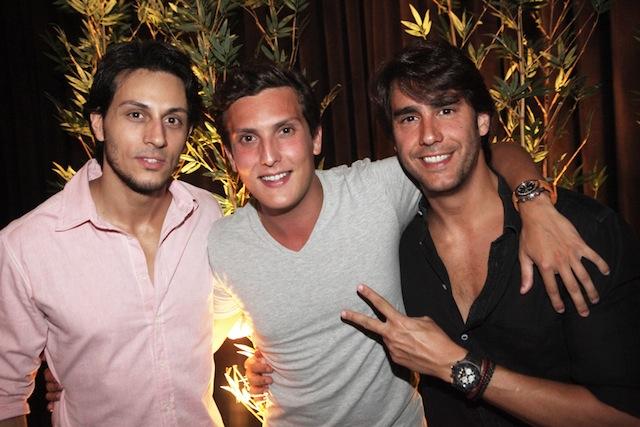 Thiago Mansur, Kiko Franco e Paulinho Velloso