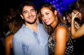 Claudio Fornerolli e Isabela Soncini