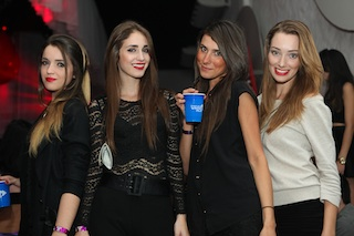 Dayana Hoffmann, Giovana Donati, Aline Marquez e Rafaela Ruiz