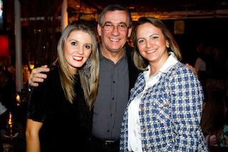 Jamilly Machado , Roberto e Cintia Peres