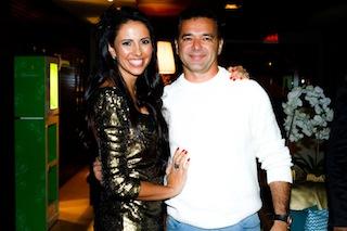 Shirley Albuquerque e Claudinho Sabonete