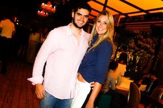Victor Machado e  Vanessa Chacorowski