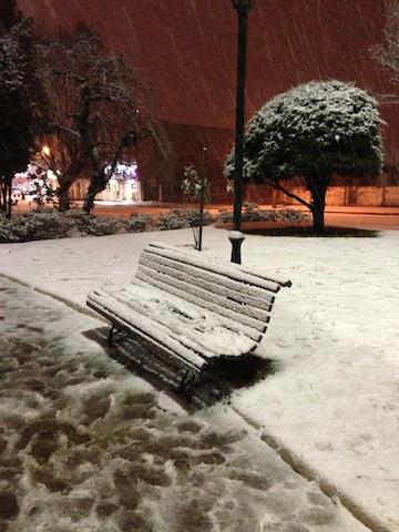Cenário catarinense no inverno 2013