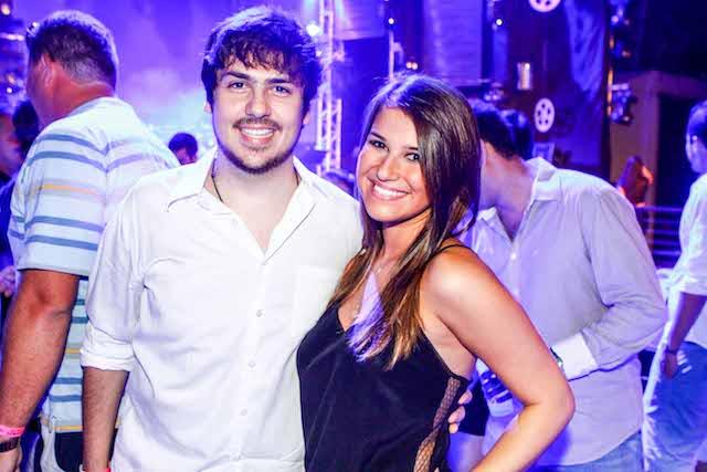 Fernandinho Pereira e Mariana Perassa