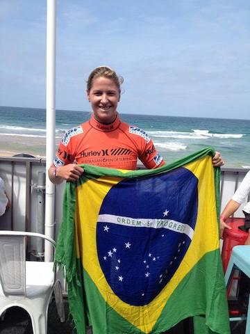 Jacque Silva defendeu o Brasil na Austrália