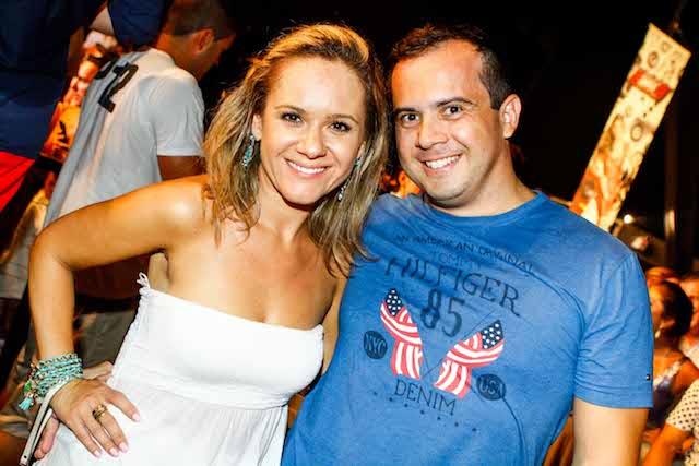 Suyane Quevedo e Edmilson Ortiz