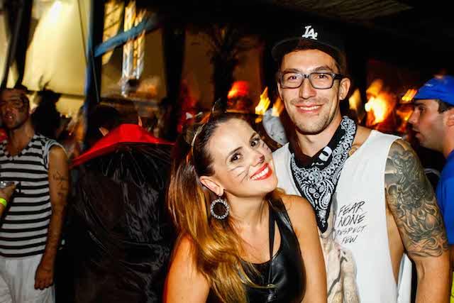 Ana Carolina Zaguini e Daniel Siqueira