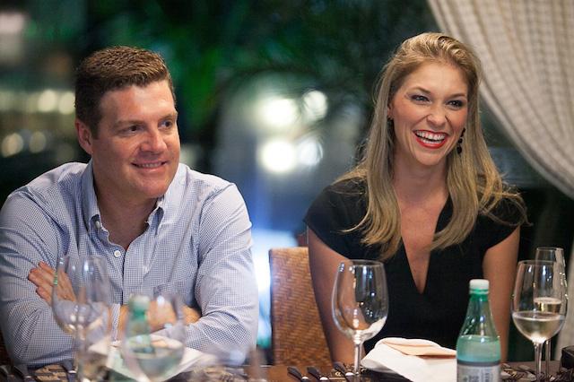 Eduardo e a esposa Patricia Philipps