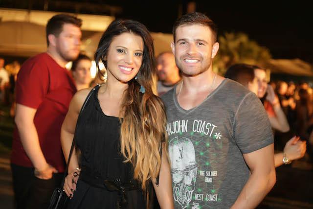 Aline Mombelli e Thiago Cardoso