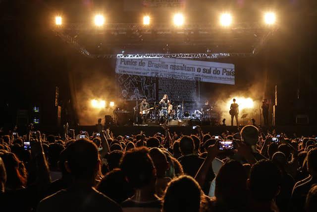 Público de Floripa lotou o Devassa On Stage