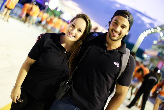 Camila Salvador e Renato Galo (Grupo ALL)