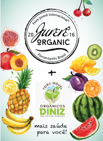 Cartaz Feira de Orgânicos