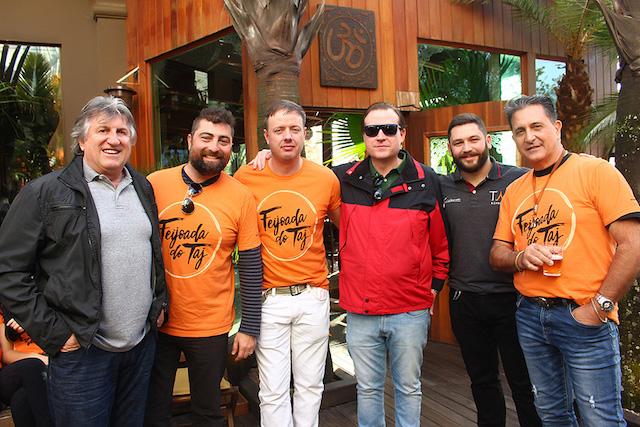 Leonel Pavan, Gustavo Ferreira, Daniel Arend, Daniel Binatti, Emilio Kneipp e Alfredo Mario Martinez