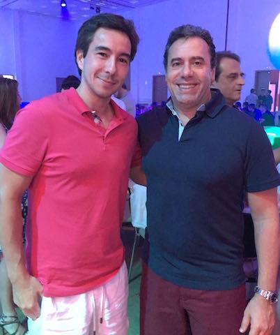 Catarinense Mauro Nomura e Arthur Grymbaum, sócio presidente do grupo O Boticário